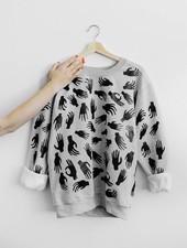 MiMi Frocks Handsy Sweatshirt