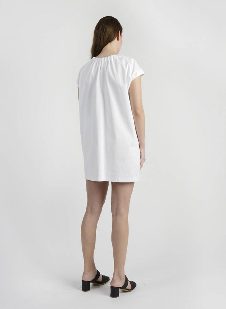 MiMi Frocks Elastic Neck Dress