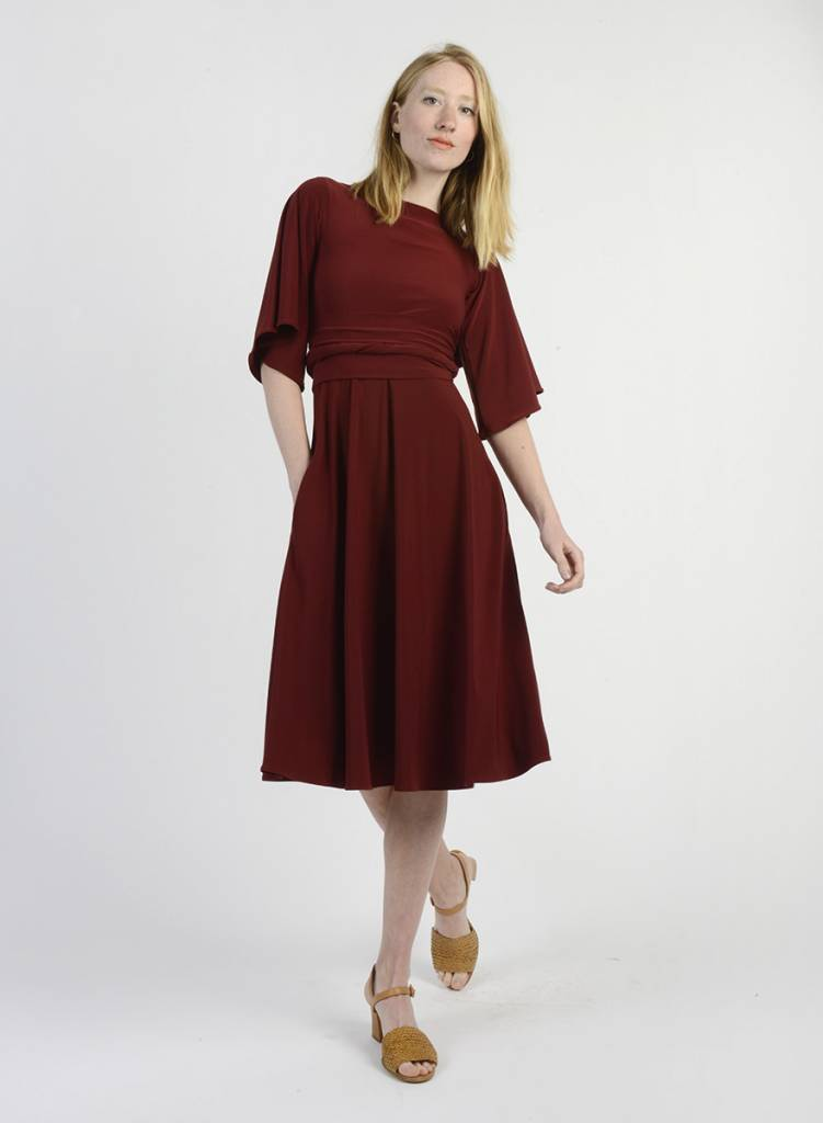 Buffalo Wrap Dress