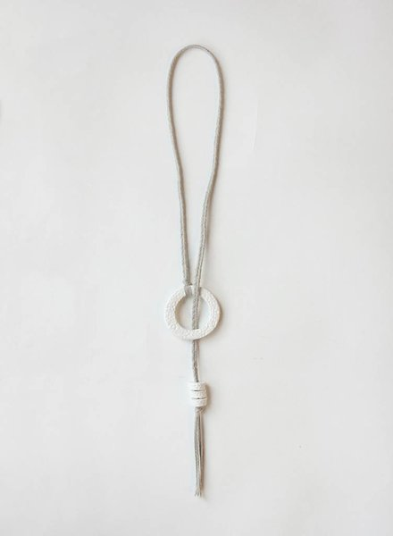 Kari Breitigam Ring Lariat Necklace