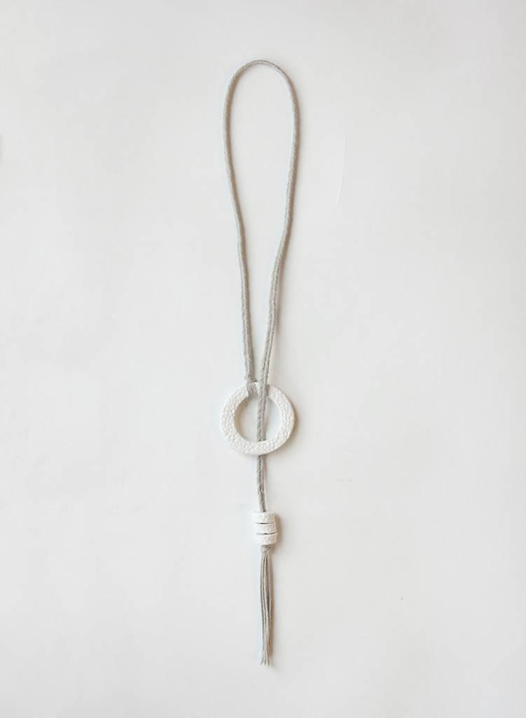 Kari Breitigam Ring Lariat Necklace