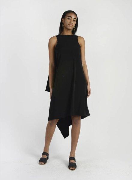 MiMi Frocks Long Drape Back Dress