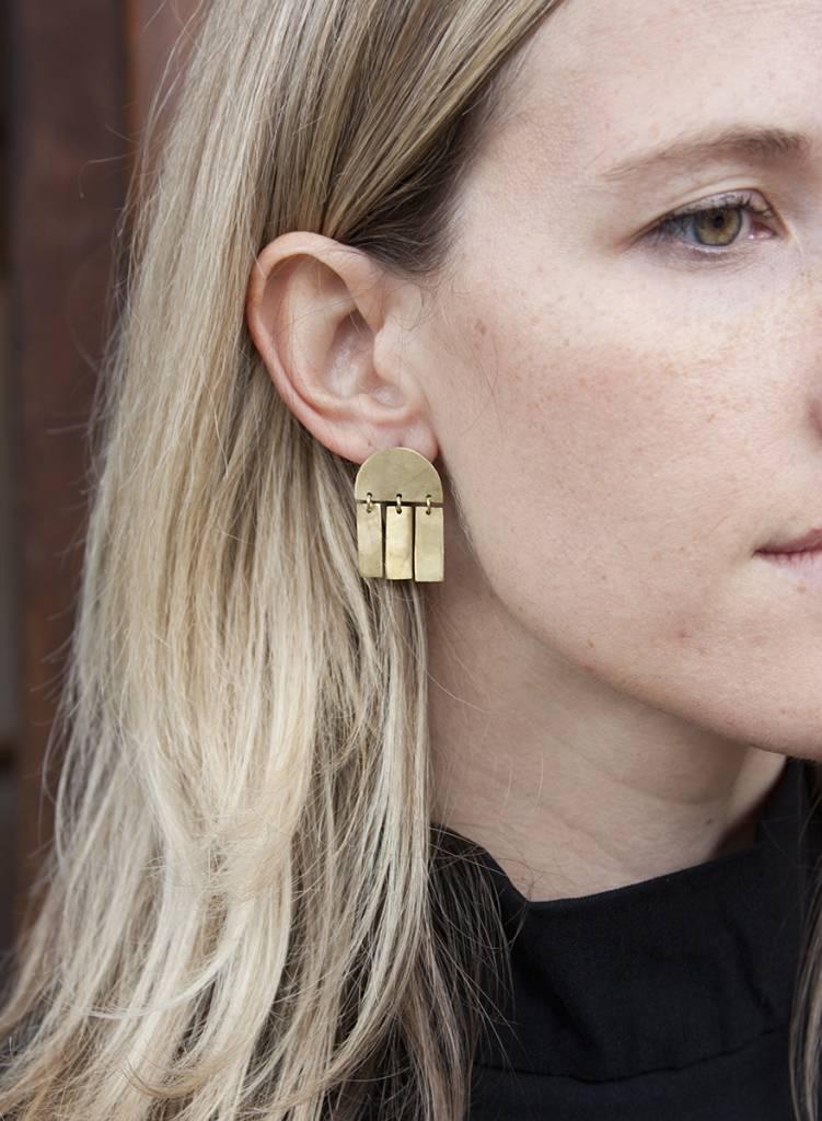 Soko Soko Cala Fringe Earring