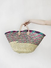 Moroccan Beach Bag - Multicolor