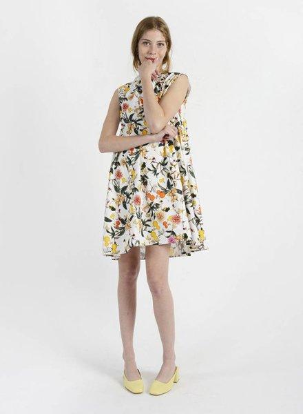 Short Puff Back Dress