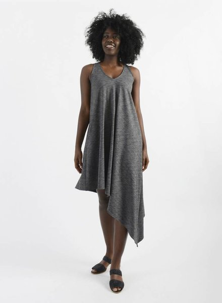 V-Neck Asymm Dress