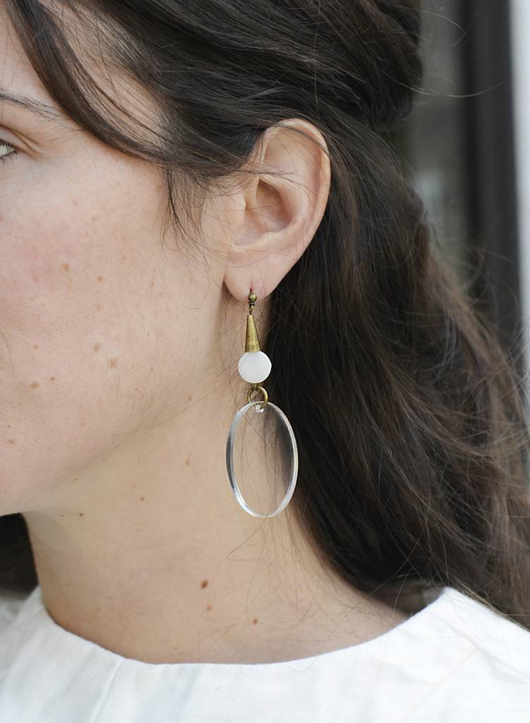 Fortune Circle Earring