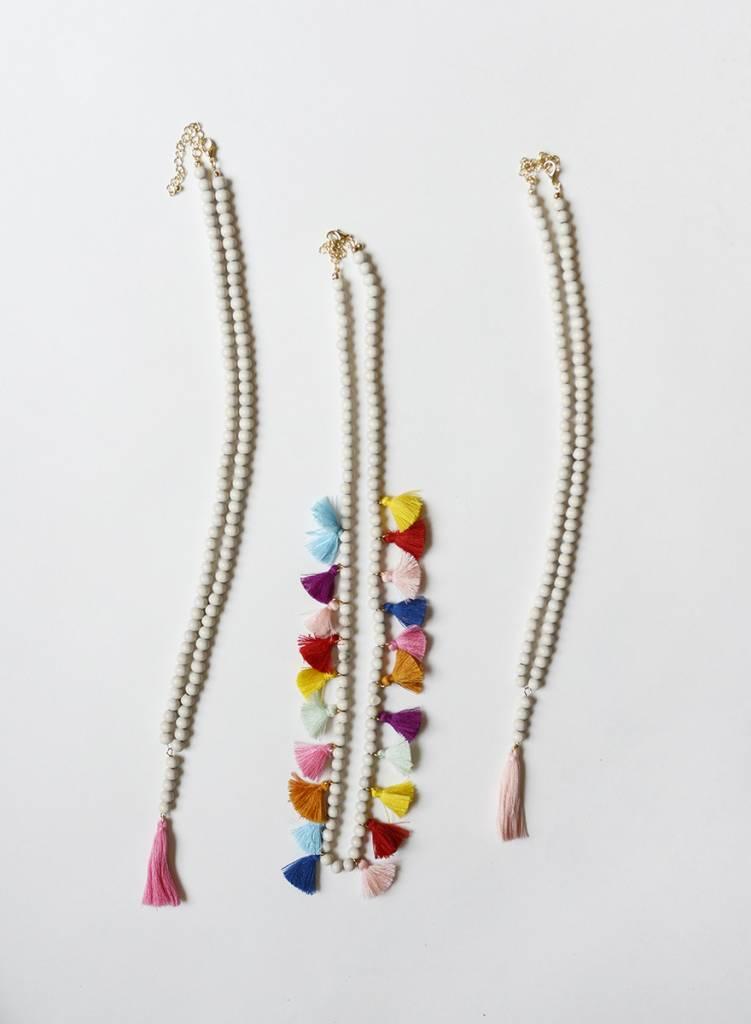 Multi Tassel Necklace