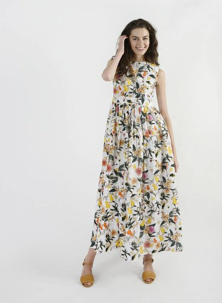 Tiered Muscle Gown