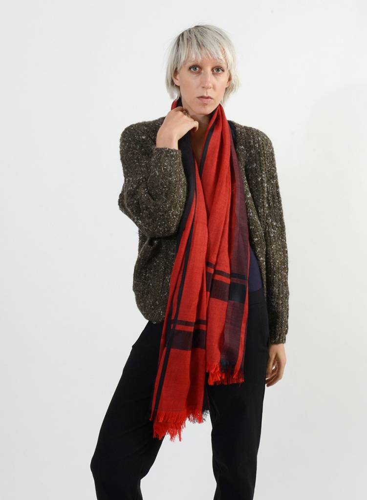 Bloom & Give Tribute Scarf Red