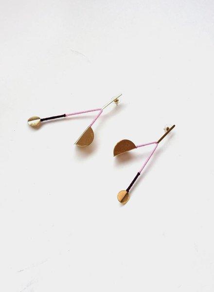 Sputnik Earrings