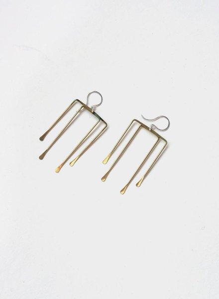 Loop Hawk Earrings