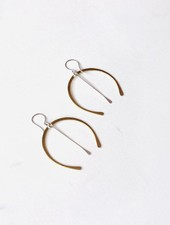 Loop Wishbone Earrings