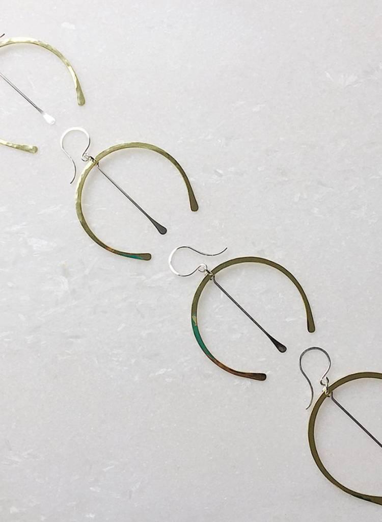 Loop Wishbone Earrings