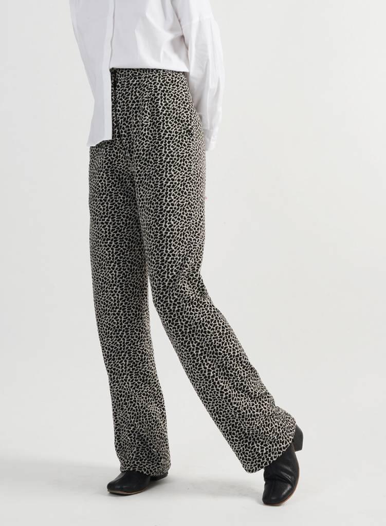 Leopard Hepburn Pant
