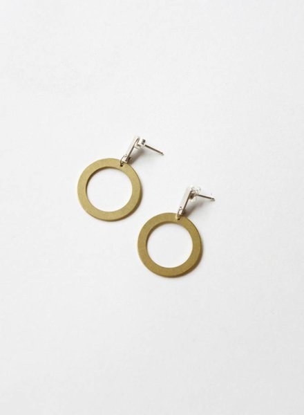 Natalie Joy Circle Line Earrings