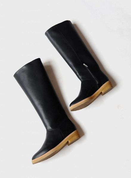Sydney Brown Knee High Boot