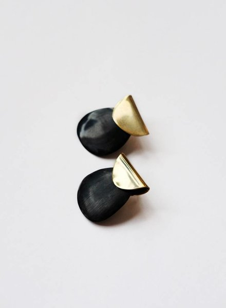 Soko Soko Contrast Sabi Earrings