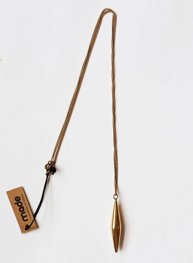Made Made Brass Pendant