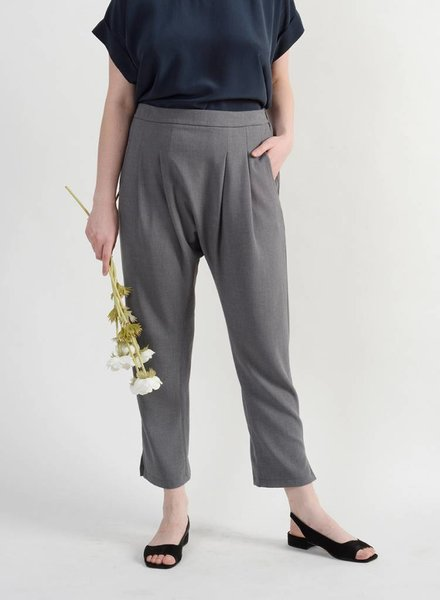 Long Holly Pant - Pewter