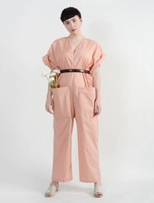 Overthrow Jumpsuit - French Mauve
