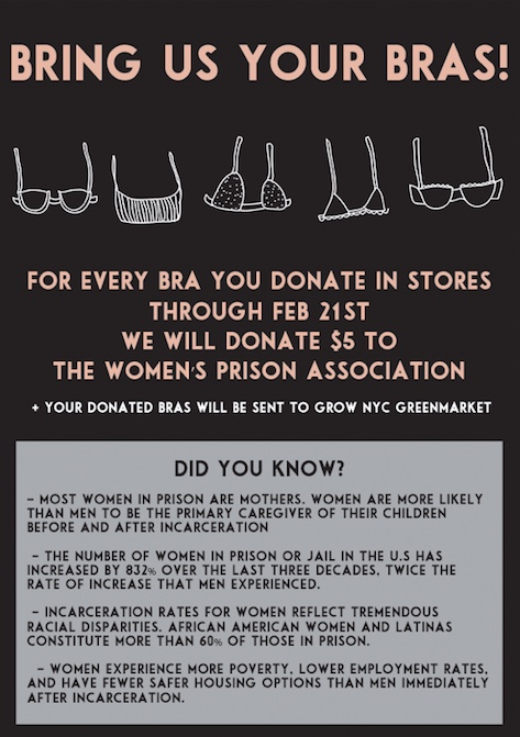 Give Us Your Bras. Women's Prison Association