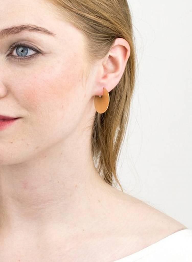 Baleen Meridian Earrings - Gold