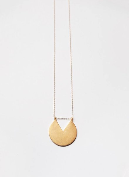 Baleen Subtracted V Necklace