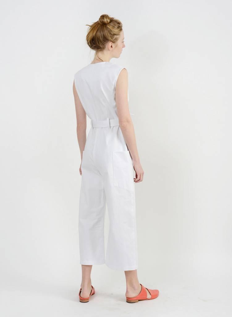 Lisette Jumpsuit - White