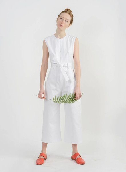Lisette Jumpsuit - White