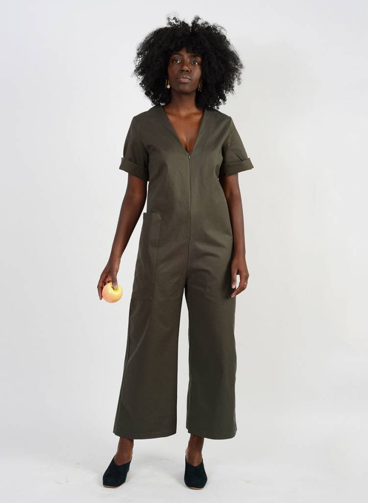 Route Jumpsuit - Olive