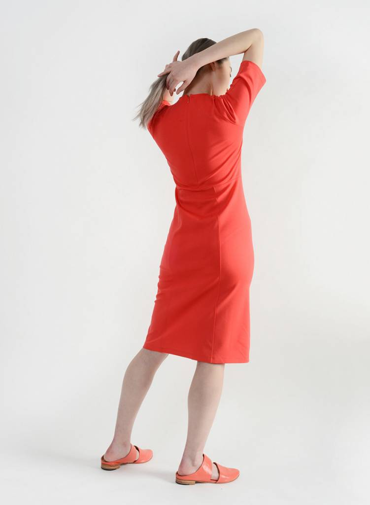 Joint Dress - Coral