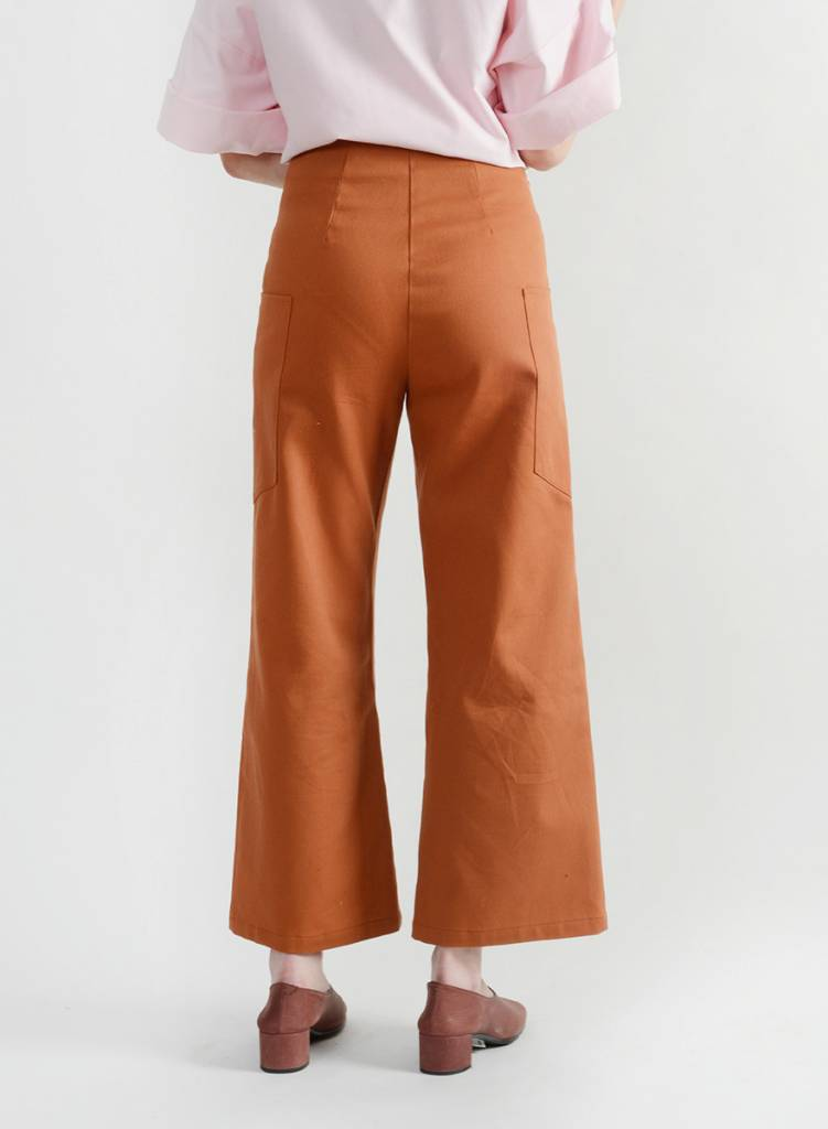 Lou Lou Pant - Brick Brown