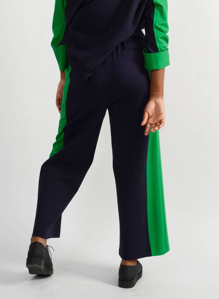 Course Pant - Emerald/Navy
