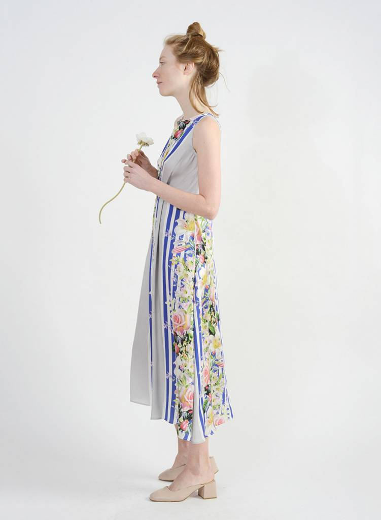 Georgitte Dress - Floral Stripe