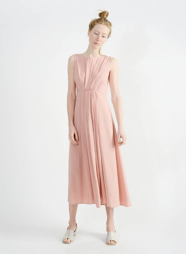 Georgitte Dress - Peach