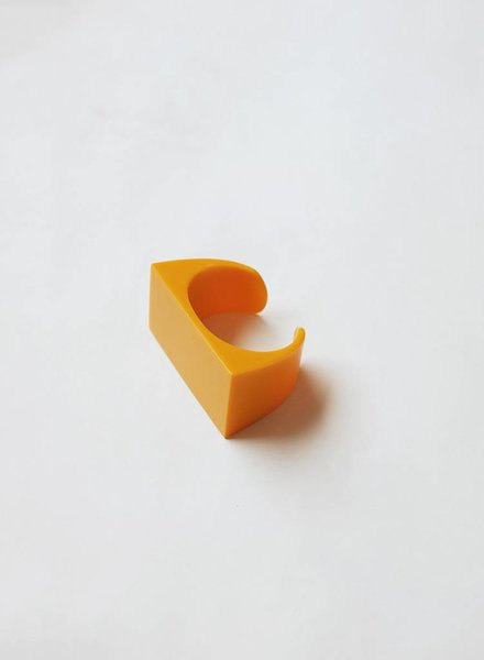Narratives Resin Cuff - Yellow