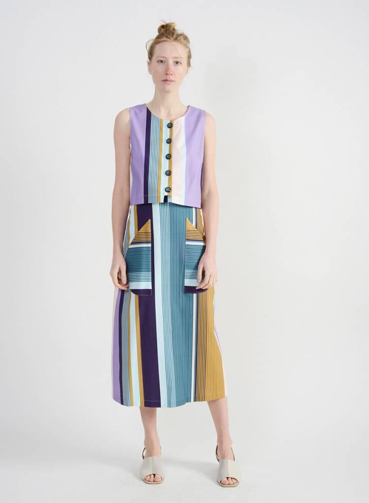 Emilia Top - Stripe