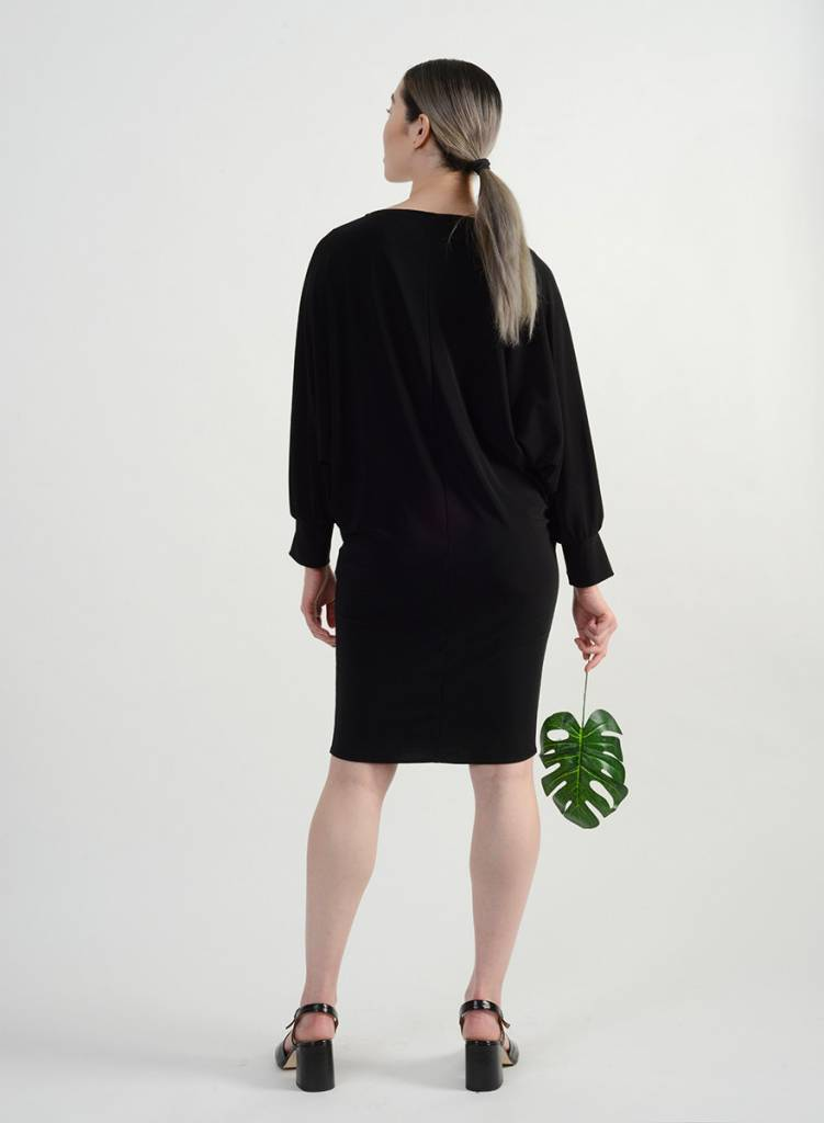 Manteau Dress - Black