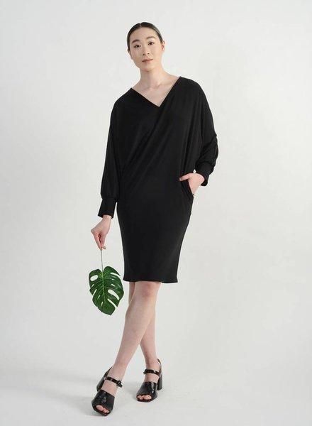Manteau Dress - Black