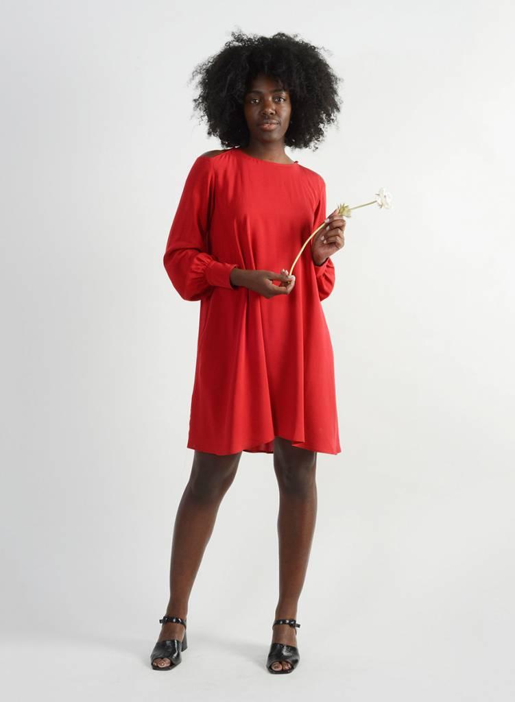 Gabi Dress - Red