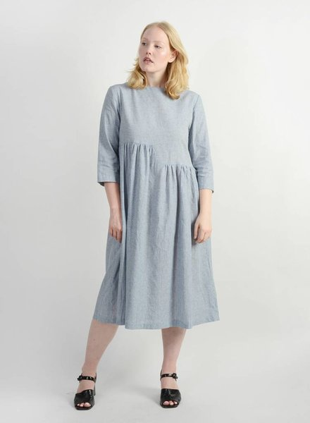 Delphine Dress - Denim