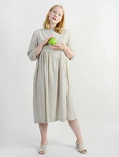 Delphine Dress - Ecru