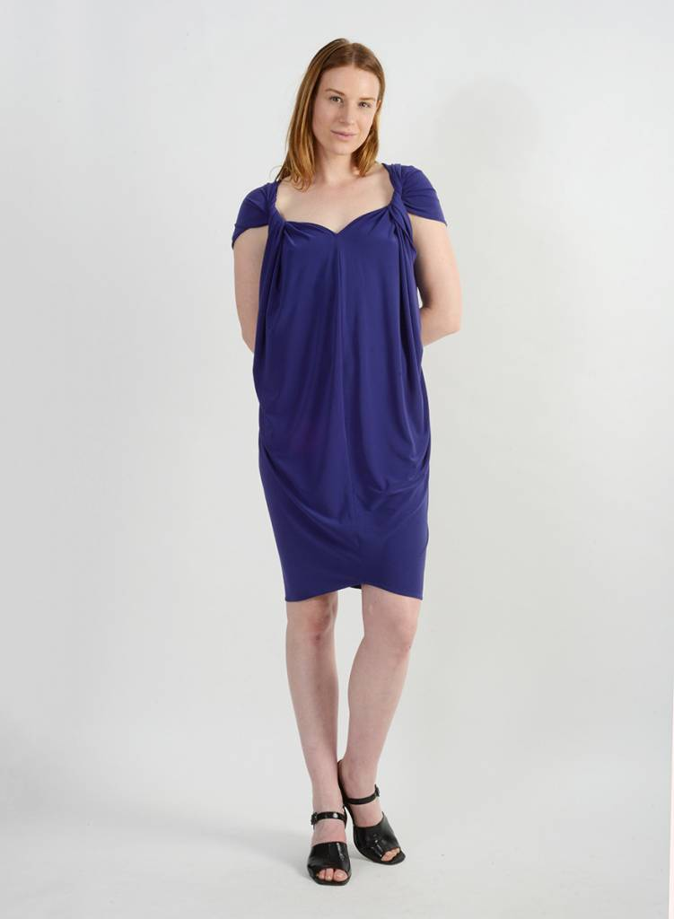 Twisted Dress - Sapphire
