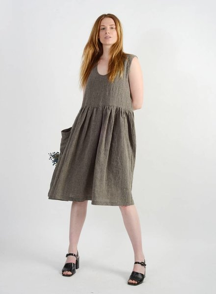 Madeline Dress - Flax