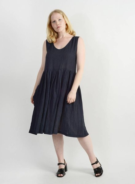 Madeline Dress - Indigo