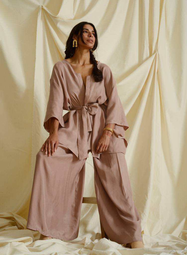 Vienna Pant- Dusty Pink