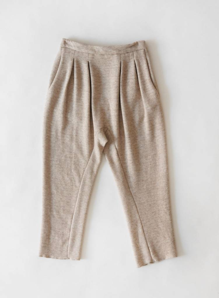 Knit Holly Pant-Beige
