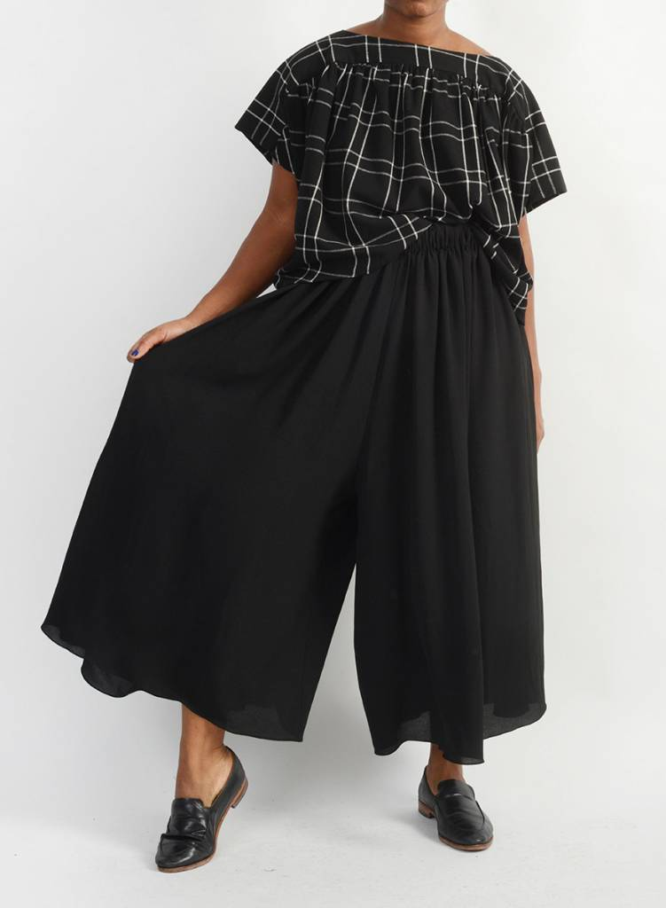 Abstraction Pant - Black