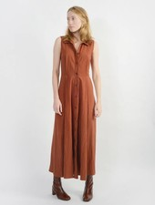 Jubilee Dress - Rust